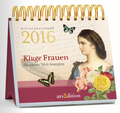 arsEdition Kluge Frauen Kalender Postkartenkalender 2016