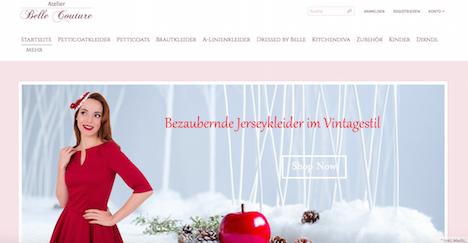 Atelier Belle Couture Onlineshop