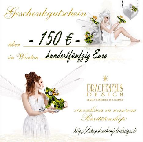 Drachenfels Design Gutschein 150_