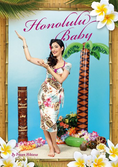 Frozen Hibiscus Honolulu Baby Flyer