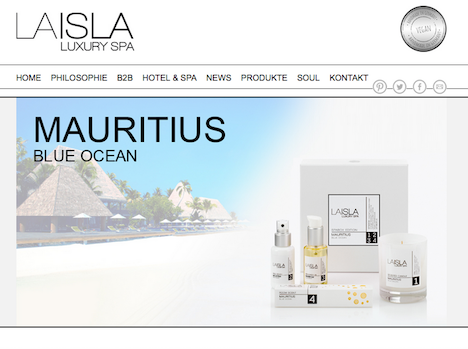LAISLA LUXURY SPA  Homepage