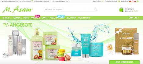 M.Asam Onlineshop Webshop