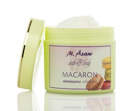 M.Asam macaron_Koerpersouffle 500ml_offen
