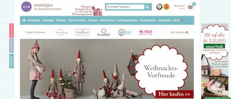 Nostalgie im Kinderzimmer niK Onlineshop Webshop
