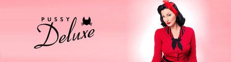 Pussy Deluxe Banner mit Ava Elderwood