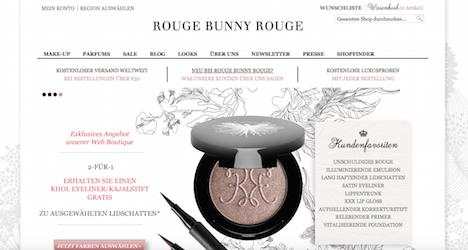 Rouge Bunny Rouge Onlineshop Webshop
