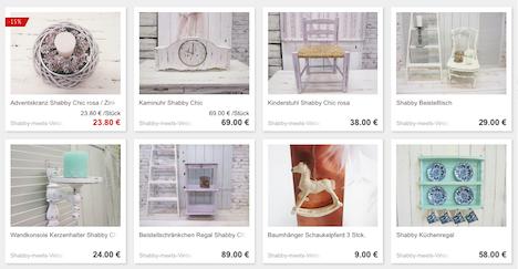 Shabby meets Vintage DawAnda-Shop Onlineshop