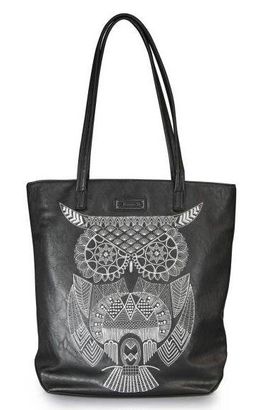 The Studio Deluxe Loungefly Shopper Owl