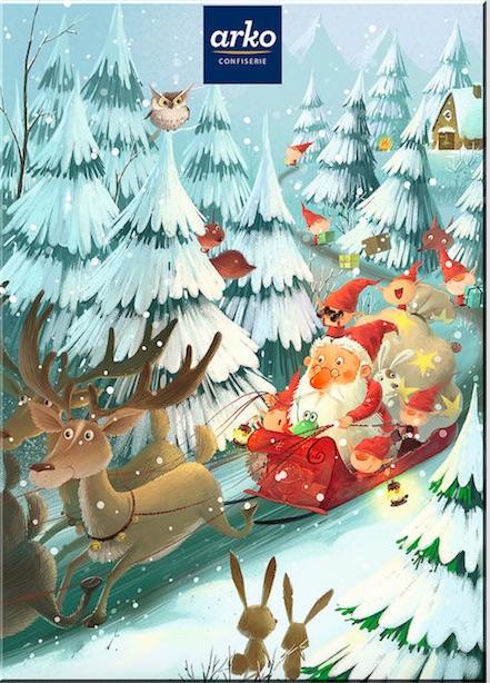 arko Confiserie Adventskalender Kinder 2015