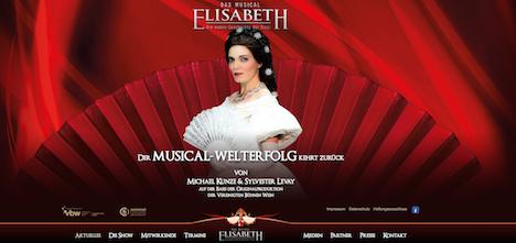 Elisabeth das Musical Die wahre Geschichte der Sissi Homepage