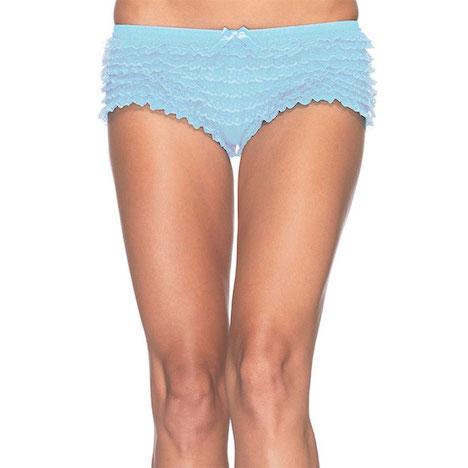 eis.de Burlesque Set Rueschen Panty blau Leg Avenue EIS_381121la