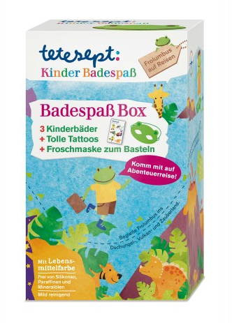 tetesept Badespass Box