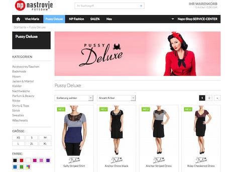 Napo Shop Pussy Deluxe Onlineshop Nastrovje Potsdam