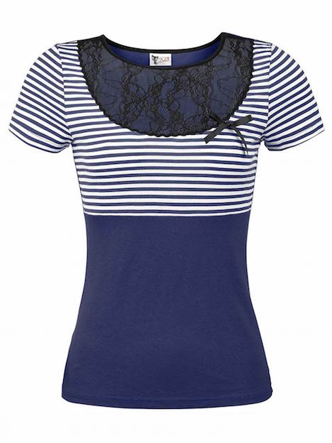 Pussy Deluxe Sally Striped Shirt 29.99€ 33273_h Kopie 3