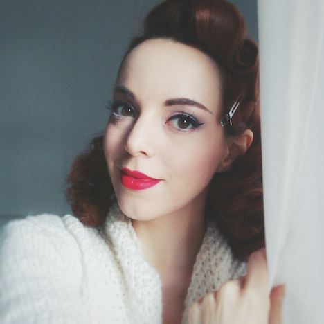 Style of the Week Pinup Model Rina Bambina Portrait 1 - Potsdam
