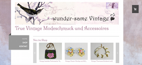 wunder-same vintage Onlineshop Webshop