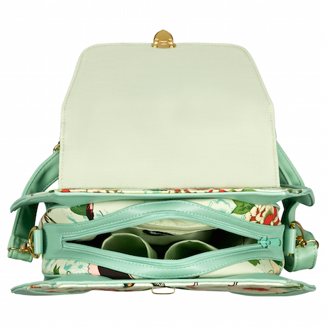 Fraeulein Backfisch banned_butterfly-and-flowers-handbag_green_new_03