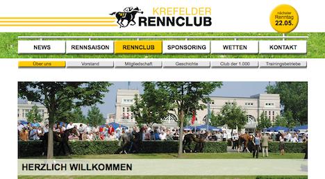 Krefelder Rennclub Homepage