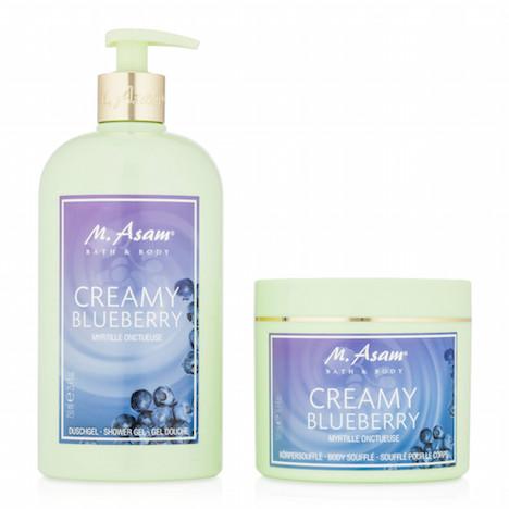 M.Asam Creamy Blueberry Set