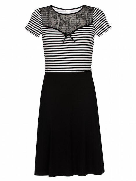 Pussy Deluxe Anchor Striped Dress 49.99€ 33276_h Kopie