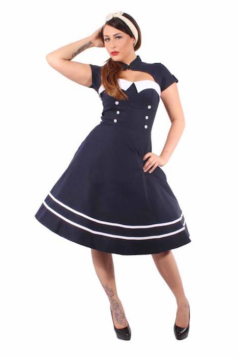 SugarShock Sailor Petticoatkleid Go.Insane