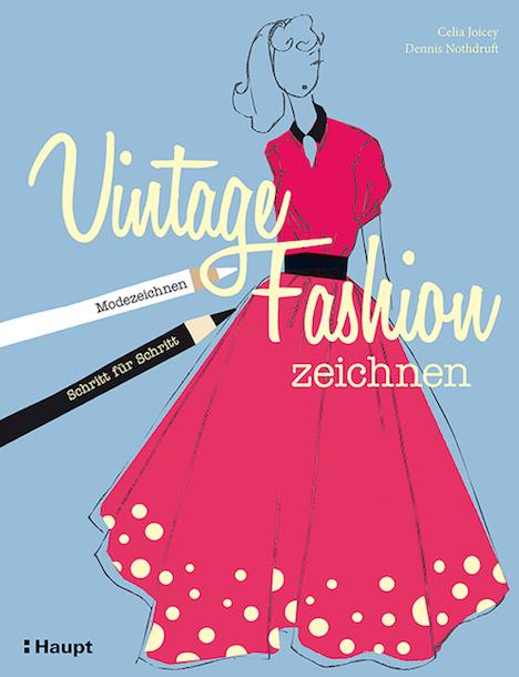 Vintage Fashion zeichnen Haupt Verlag 9783258601199