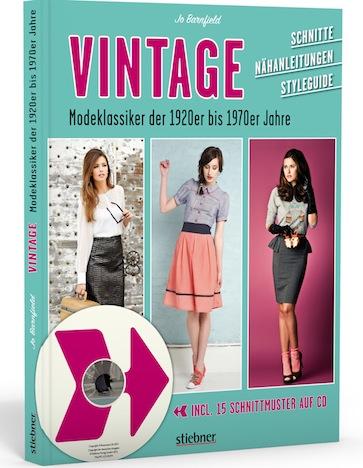 Vintage Modeklassiker der 1920er bis 1970er Jahre Stiebner Verlag Cover