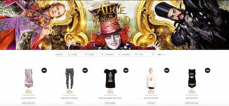 Napo Shop Alice im Wunderland Hinter den Spiegeln Angebot