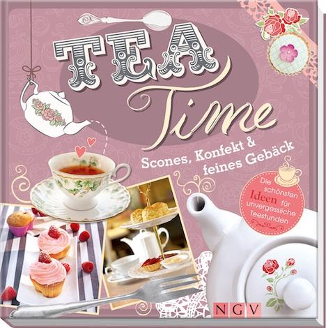 Teatime Scones Konfekt feines Gebaeck Buch Naumann & Goebel Verlag