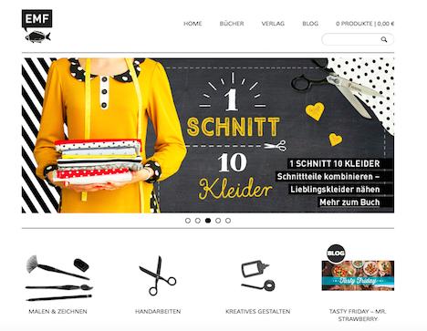 EMF Verlag Homepage Onlineshop