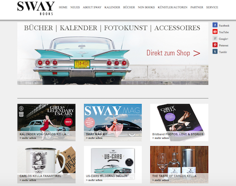 SWAX BOOKS Homepage Onlineshop