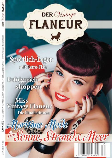Vintage Flaneur Ausgabe 16 Cover