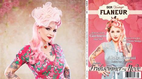 Vintage Flaneur Cover und Fotostreckenbild