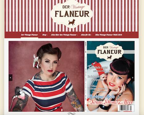 Vintage Flaneur Homepage