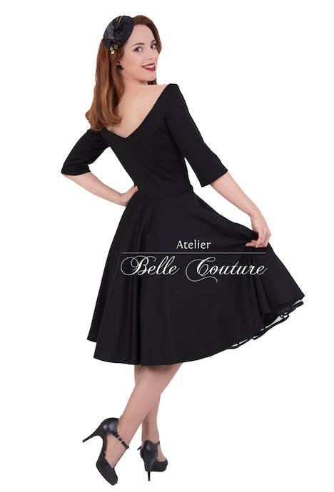 Atelier Belle Couture Kleid Petticoatkleid Audrey