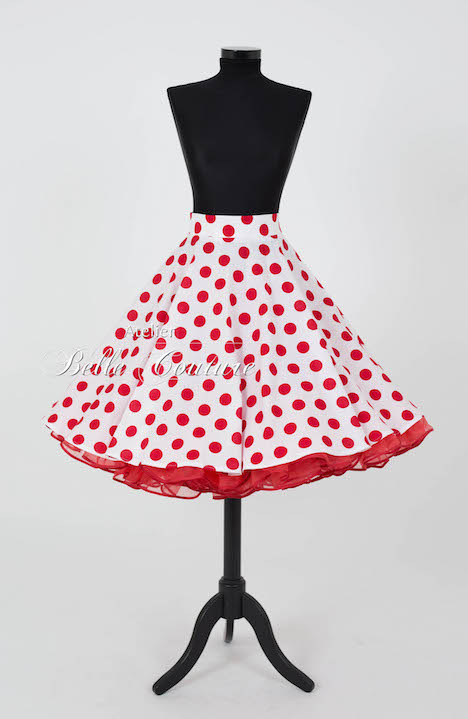Atelier Belle Couture Tellerrock Polka Dots