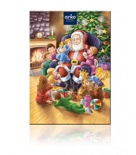Arko Adventskalender Weihnachtsmann Pralinenauswahl 16154