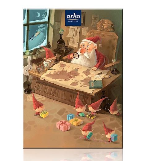 Arko Kinder-Adventskalender Weihnachtsplanung 9834