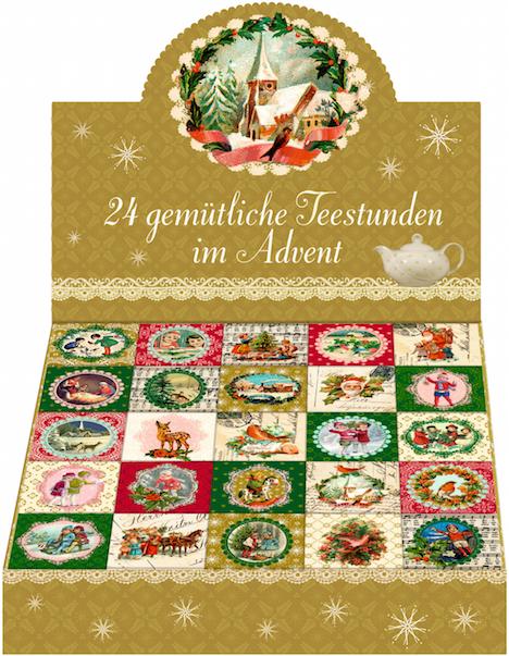 Coppenrath Verlag 24 gemuetliche Teestunden im Advent3 Kopie