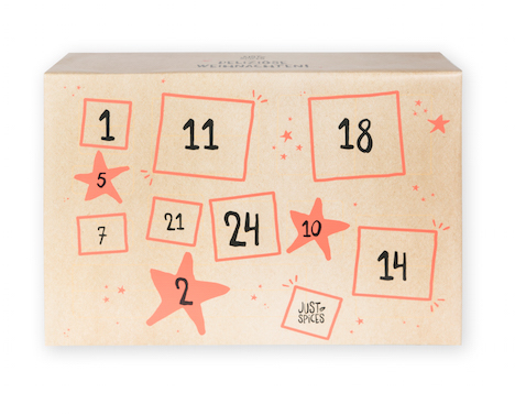 Just Spices_Adventskalender_59,90 Euro_2