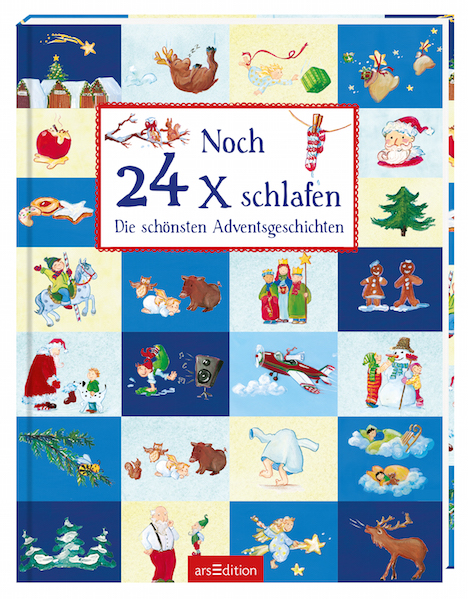 Noch 24x schlafen Adventskalender arsEdition 9783845815107