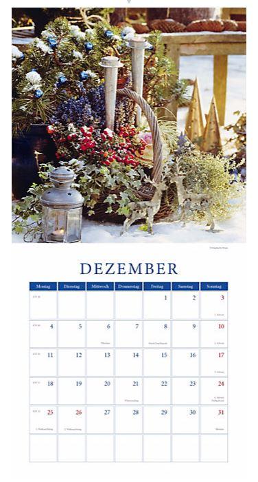 Weltbild Kalenderblatt_Garten_Dez