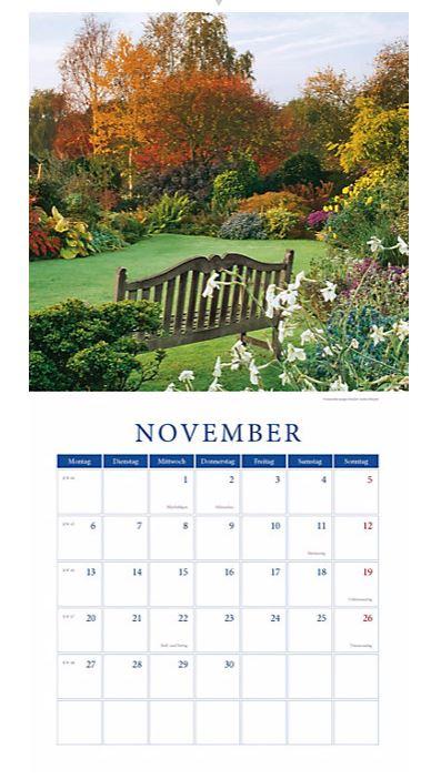 Weltbild Kalenderblatt_Garten_Nov