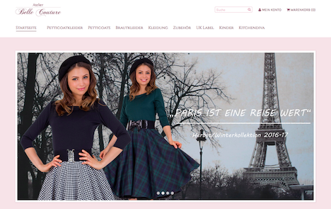 Atelier Belle Couture Onlineshop