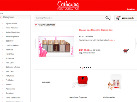 Catherine Shop Onlineshop