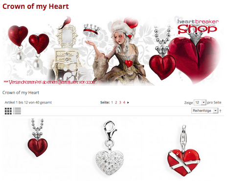 Heartbreaker Crown of my Heart Kollektion