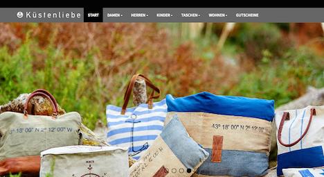Kuestenliebe Onlineshop Webshop
