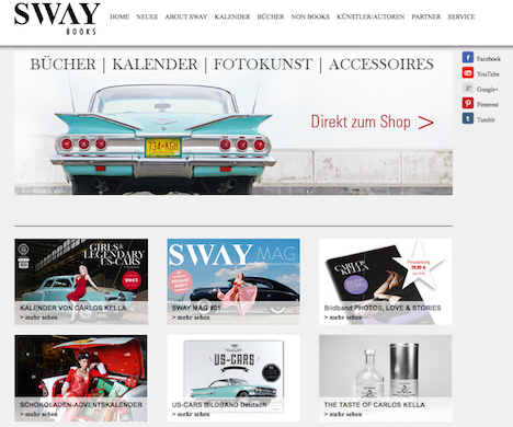 SWAY BOOKS Homepage