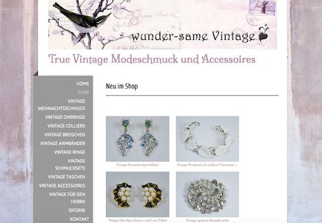 wunder-same vintage onlineshop