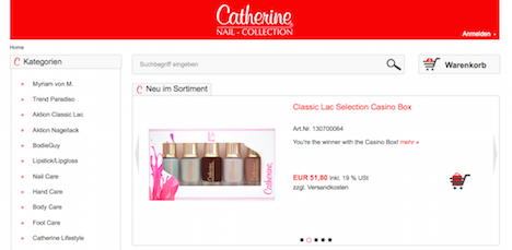 Catherine Nail Collection Onlineshop